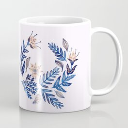 Blue Wreath Coffee Mug