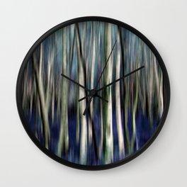 walk in wood o2 Wall Clock