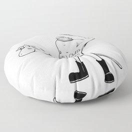 The Headless Horseman Floor Pillow