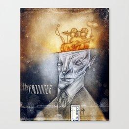 The producer Canvas Print