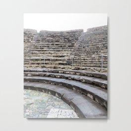 Pompeii Theater Metal Print