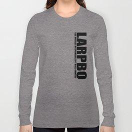 LARPBO Classic Black Long Sleeve T-shirt