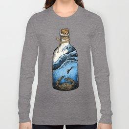 Deep blue bottle Long Sleeve T-shirt