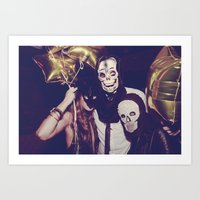 misfits Art Prints featuring Misfits by Sons of Suns