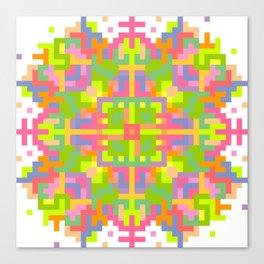 Analogue Flower Canvas Print