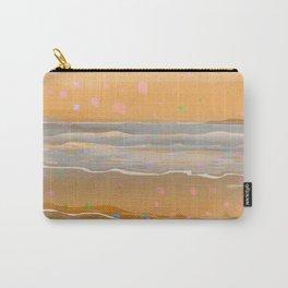 Peach Beach Memories Carry-All Pouch