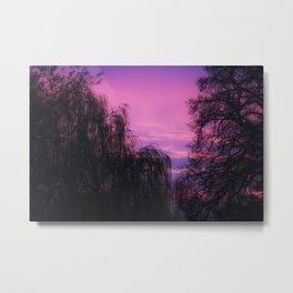 Art By God a beautiful Sunrise Metal Print