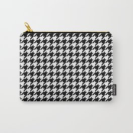 Houndstooth classic weaving pattern Carry-All Pouch