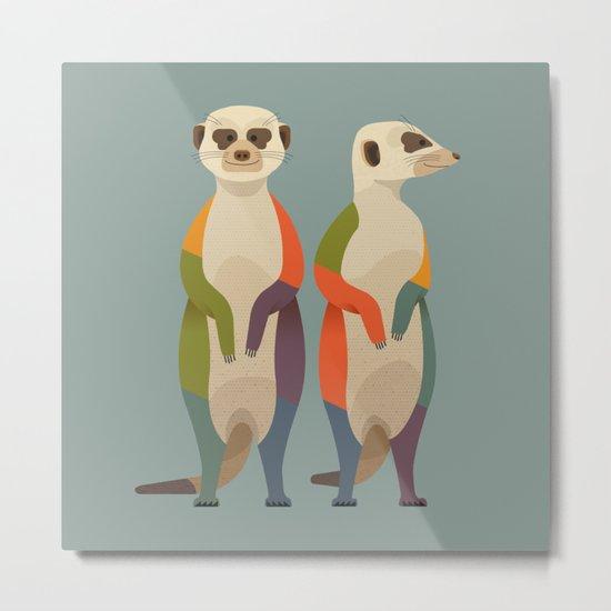 Meerkats by theprintedsparrow