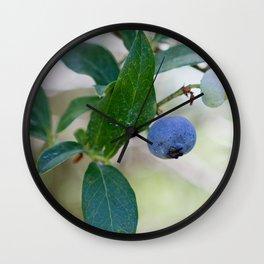 Blueberry Farm 2 Wall Clock