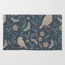 Bird Pattern #1 Rug