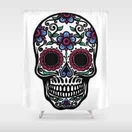 Sugar Skull 10 Shower Curtain