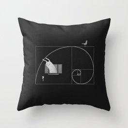 Close To Perfect Throw Pillow
