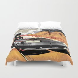 Back to the Future III (Three) Duvet Cover