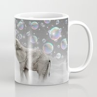 marianna Mugs featuring The Simple Things Are the Most Extraordinary (Elephant-Size Dreams) by soaring anchor designs