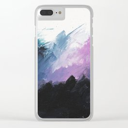 Nuit blanche Clear iPhone Case