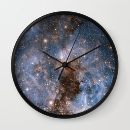GALACTICAL STORM Wall Clock