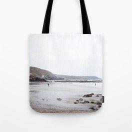 Blue Cornish Beach Tote Bag