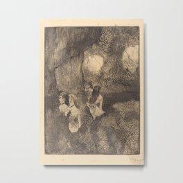 Dancers in the Wings Metal Print