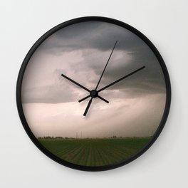 Rolling Storm Wall Clock