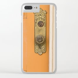 French Quarter Color, No.2 Clear iPhone Case