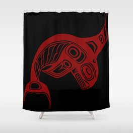 Blood Keét Night Shower Curtain