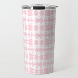 White Sapphires - Pink Travel Mug