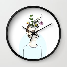 Creative Mind Wall Clock