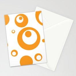 Circles Dots Bubbles :: Marmalade Inverse Stationery Cards