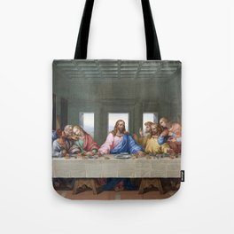The Last Supper by Leonardo da Vinci Tote Bag