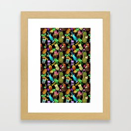 Tropical Happy Hour Framed Art Print