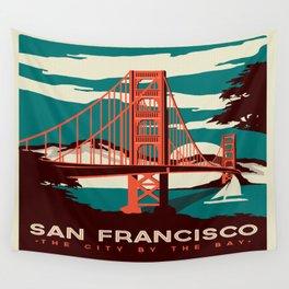 Vintage poster - San Francisco Wall Tapestry