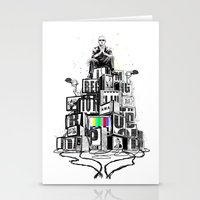 rap Stationery Cards featuring Rap God by Reducto