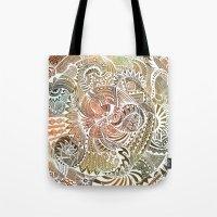 batik Tote Bags featuring Batik by brenda erickson