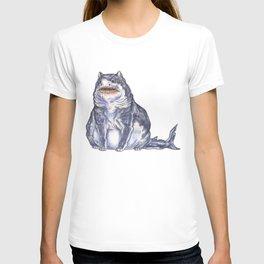 Great White Shark Cat :: Series 1 T-shirt
