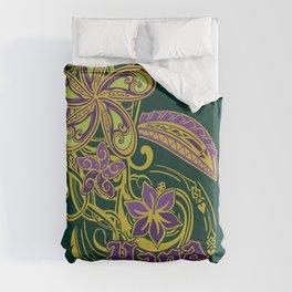 Hana Maui Tribal Threads Duvet Cover