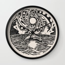 The Middle Way Wall Clock