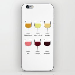 Wine Spectrum iPhone Skin