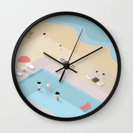 Love Island Wall Clock