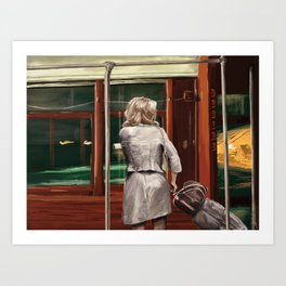 A Streetcar Named Desire Art Print