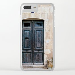 Old fashioned door Clear iPhone Case