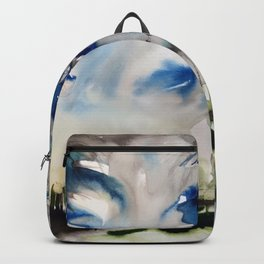 foggy forest Backpack