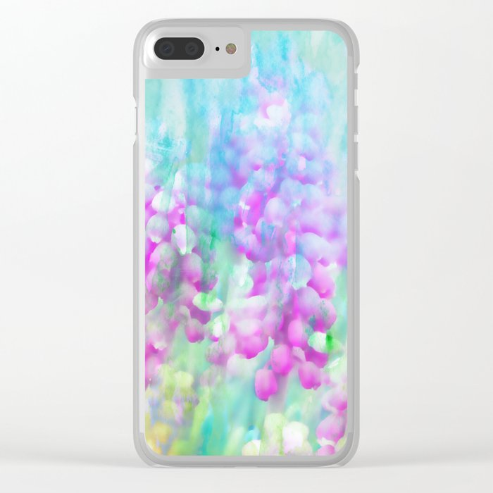 Spring is in the Air 3 Clear iPhone Case