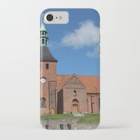 denmark iPhone & iPod Cases featuring Vor Frue Kirke, Svendborg, Denmark by Anders Riise Koch