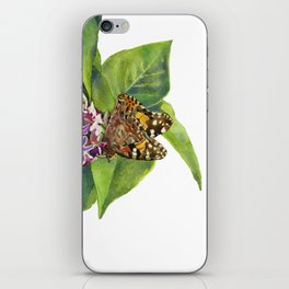Butterfly & Lilacs iPhone Skin
