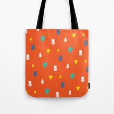 Bright and small pineapples Tote Bag