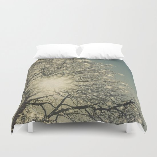 Winter Sparkle Duvet Cover