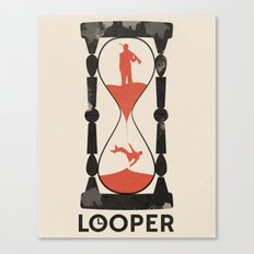 Looper Canvas Print