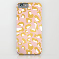 Abstract leopard pattern Slim Case iPhone 6s