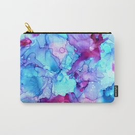 Parrot Tulips in the Wind by Studio 1153 Carry-All Pouch